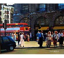 Waiting to Cross Photographic Print