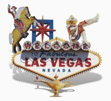 Las Vegas Welcome Sign by Gravityx9