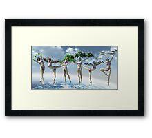 Earth Dance Framed Print