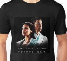 DEMI LOVATO NICK JONAS FUTURE NOW ORI Unisex T-Shirt