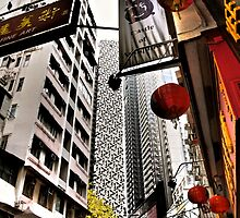 the streets of SoHo Hong Kong by LoveDutchArtEbs