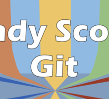Randy Scouse Git Sticker