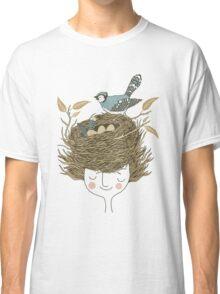 Bird Hair Day Classic T-Shirt