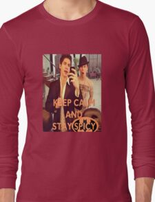 Keep Calm And Stay Spicy! Long Sleeve T-Shirt