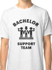 Bachelor Support Team (Stag Party / Black) Classic T-Shirt