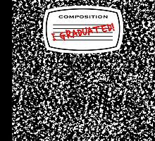 i graduated composition book by maydaze
