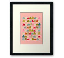 Delightful Rue (Pink) Framed Print