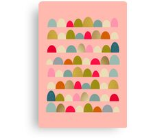 Delightful Rue (Pink) Canvas Print