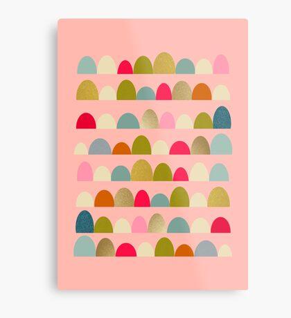 Delightful Rue (Pink) Metal Print