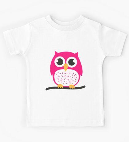 Cute Owl Kids Tee