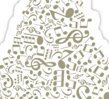 Musical Christmas tree Sticker