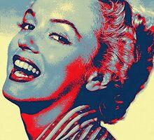 Marilyn Monroe by Art Cinema Gallery