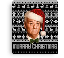Murray Christmas Canvas Print