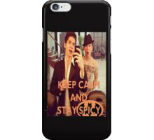 Keep Calm And Stay Spicy! iPhone Case/Skin