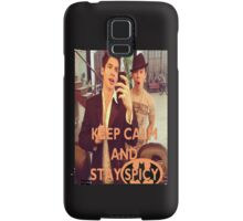 Keep Calm And Stay Spicy! Samsung Galaxy Case/Skin