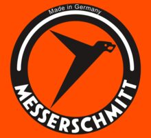 Messerschmitt Aircraft Company Logo (Black) by warbirdwear