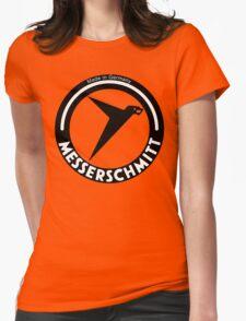 Messerschmitt Aircraft Company Logo (Black) Womens Fitted T-Shirt