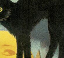 Mysterious as a Cat Sticker