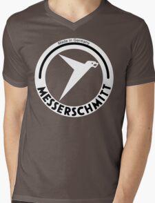 Messerschmitt Aircraft Company Logo (White) Mens V-Neck T-Shirt