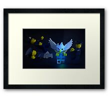 Hadouken or How-do Ken? Framed Print
