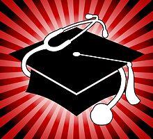 doctor graduation cap by maydaze