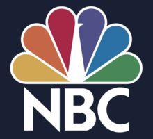 NBC Logo - White Baby Tee
