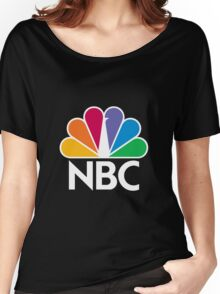 NBC Logo - White Women's Relaxed Fit T-Shirt