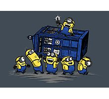 The Minions Have The Phone Box Photographic Print