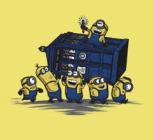 The Minions Have The Phone Box Kids Clothes