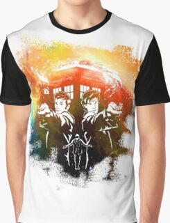 Doctor Who Space Graphic T-Shirt
