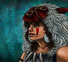 .:Princess Mononoke:. by Kimberly Castello