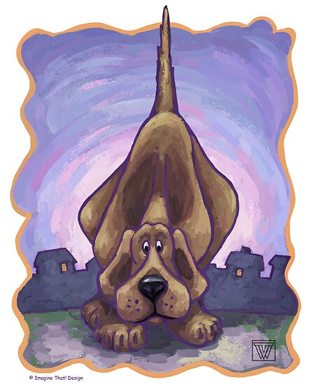 Animal Parade Hound Dog by Traci VanWagoner