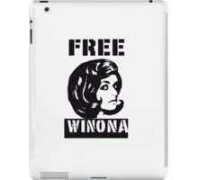 Free Winona (CLEAR) iPad Case/Skin