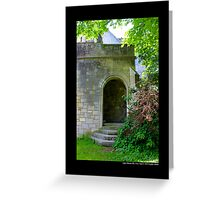 Coe Hall Historic House Museum Hidden Entrance - Upper Brookville, New York Greeting Card