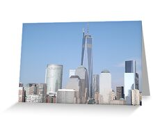 The New World Trade Center is Now the Tallest Building in the Western Hemisphere, New York City Greeting Card