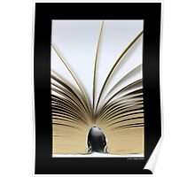 Open Book Poster