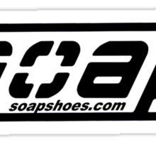 Soap shoes shirt V2 Sticker