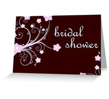 bridal shower invitations Greeting Card