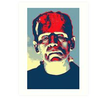 Boris Karloff in The Bride of Frankenstein Art Print