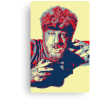 Lon Chaney, Jr in The Wolf Man Canvas Print