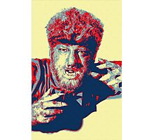 Lon Chaney, Jr in The Wolf Man Photographic Print