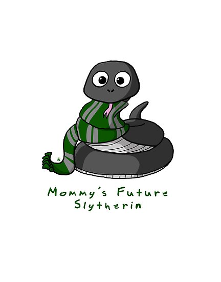 Mommy's Future Slytherin by mikaelaK