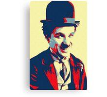 Charles Chaplin Charlot Canvas Print