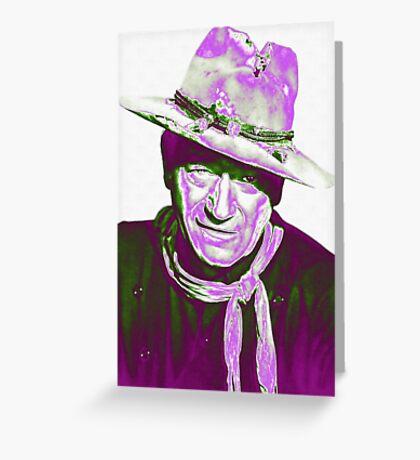 John Wayne in The Man Who Shot Liberty Valance Greeting Card