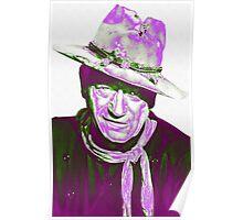 John Wayne in The Man Who Shot Liberty Valance Poster