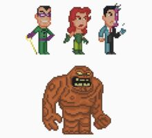 Batman Villains Pixel Figure Sticker Set 2 by Pixelfigures