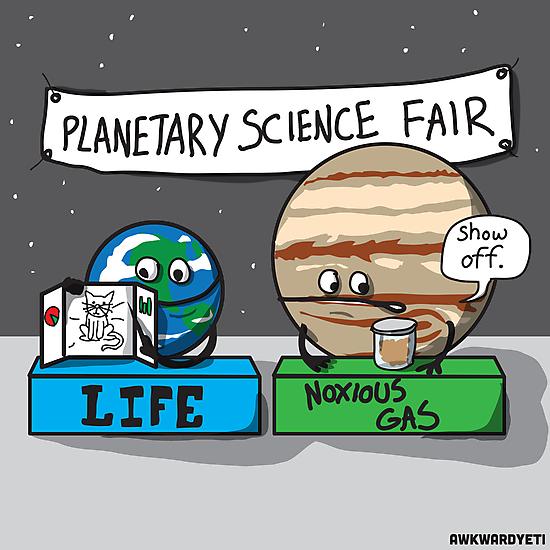Planetary Science Fair by theawkwardyeti