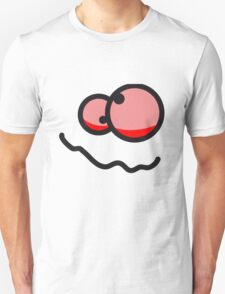 Funny Red Eyes Face T-Shirt