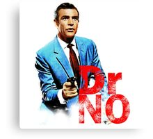 Doctor No 007 Characters Canvas Print