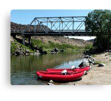 Recreation on the Rio Grande River Canvas Print